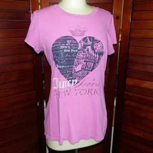 ❤ 5/25 juicy couture shirt
